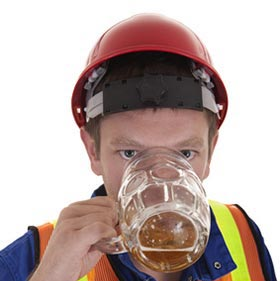Alcohol in the workplace is a serious issue