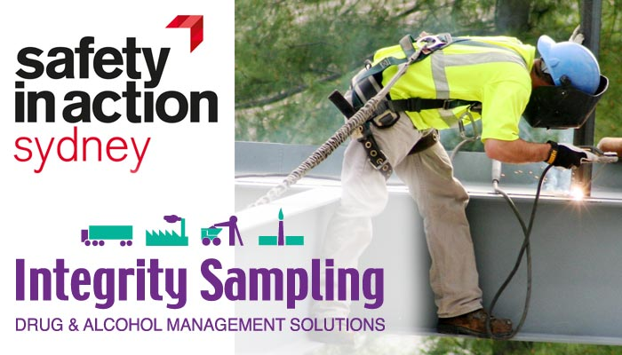 Drug and alcohol testing will be on show at the Safety in Action Sydney event, to be held this week.