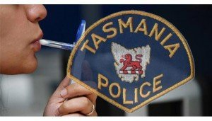 Random drug testing of police officers in Tasmania is now law.