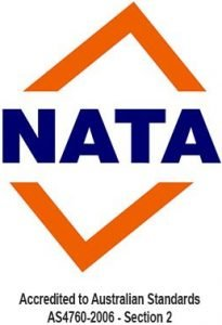 Accredited to Australian Standards AS4760-2006 - Section 2