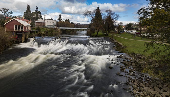 The beauty of places like Deloraine in Tasmania may be hiding a dirty issue - drug use that is harming communities.