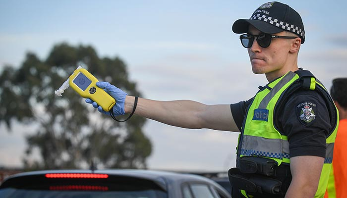 What happens to those drivers who aren't caught during random drug testing on Victorian roads?