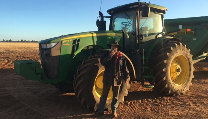 Integrity Sampling conducts workplace drug and alcohol testing in Western Australia on a remote farm.