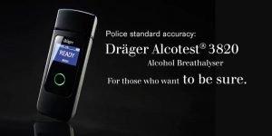 Drager Alcotest 3820 alcohol breathalyser