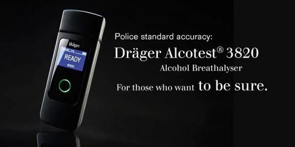 Drager Alcotest 3820 alcohol breathalyser