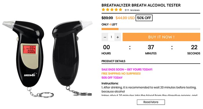 Are personal breathalysers accurate?