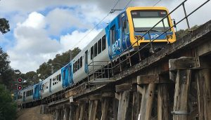 Three Victorian train workers were stood down recently after failing drug testing.