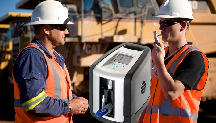 The Drager DrugTest 5000 has revolutionised workplace and roadside drug testing.
