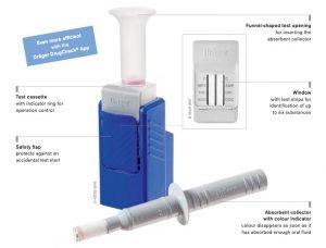 Buy the Drager DrugCheck 3000 drug test kit online at Integrity Sampliing
