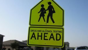 A policeman in South Australia has described as 'reprehensible' the actions of motorists who failed drug testing and alcohol testing near schools last week. Credit Clover Autrey (image modified) https://www.flickr.com/photos/84388958@N03/7729294806/