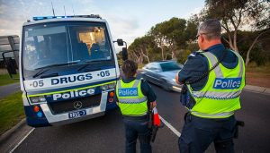 Calls from an MP to increase roadside drug testing in Victoria may have some getting hot under the collar, but there is evidence to support the demands. Credit TAC.