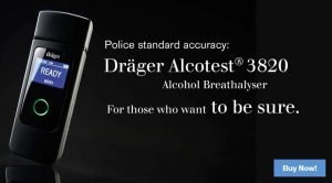 Alcohol testing in Victoria breathalyser