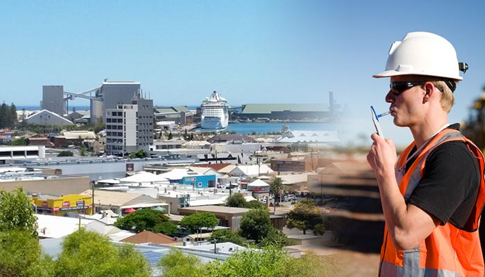 Workplace drug testing is as important in Geraldton as it is in other parts of WA and Australia. Credit Alan & Flora Botting https://www.flickr.com/photos/alan-flora_botting/36202038514/ (image modified).