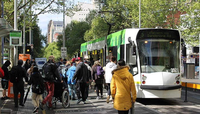A Victorian study has again highlighted the dangers of using our roads while under the influence of drugs, while a tram driver is in trouble after allegedly failing alcohol testing. Credit Philip Mallis https://www.flickr.com/photos/philipmallis/49536807343/